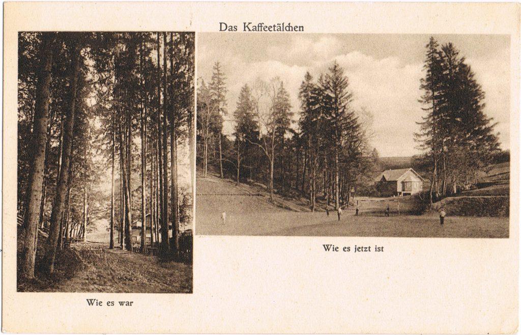 Postkarte Kaffeetälchen Tiefenort