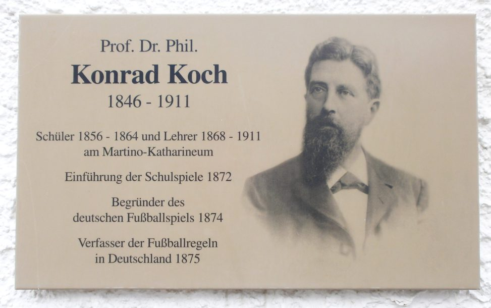Konrad Koch-Plakette am Martino-Katharineum Braunschweig