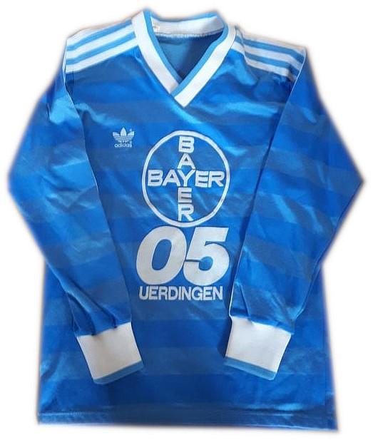 Altes Bayer 05 Uerdingen-Trikot