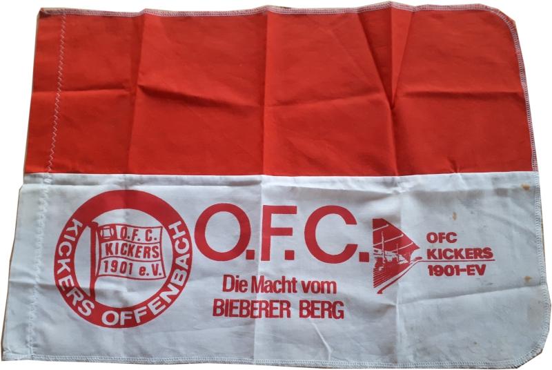 Fahne Kickers Offenbach Bieberer Berg