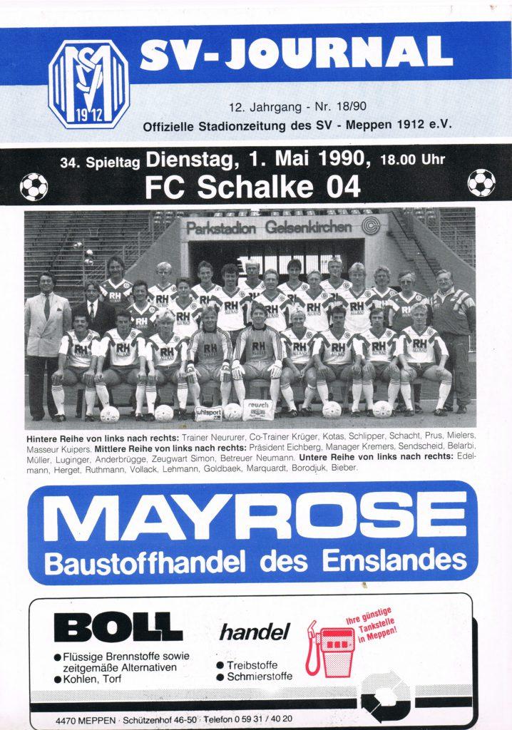 Schalke 04 beim SV Meppen