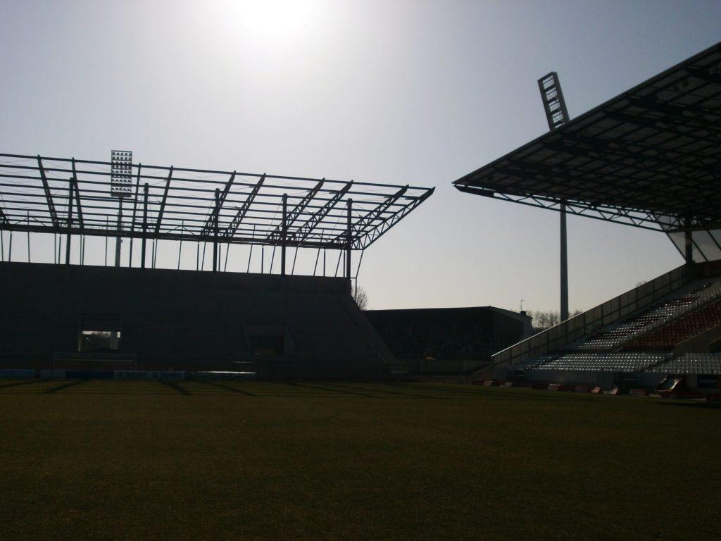 Stadionbaustelle Essen