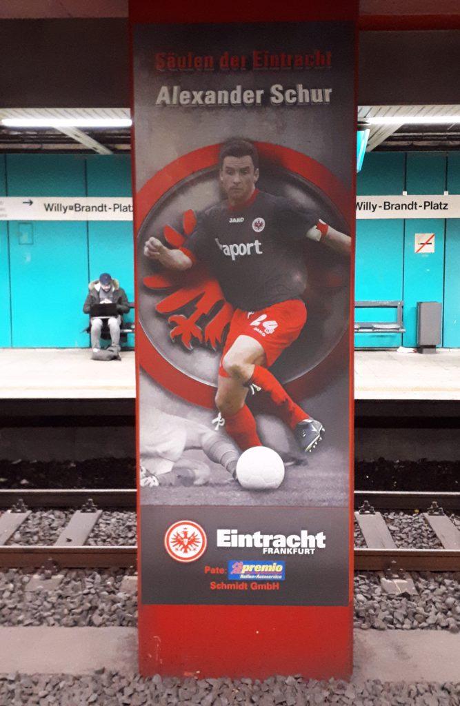 Säulen der Eintracht Willy-Brandt-Platz Frankfurt am Main