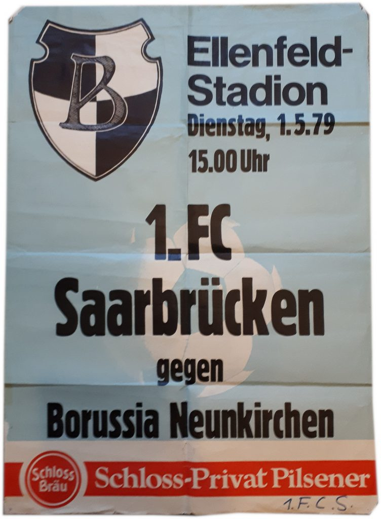 Plakat Ellenfeld-Stadion